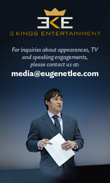 Eugene Lee at speaking engagement - Represented by 3 Kings Entertainment